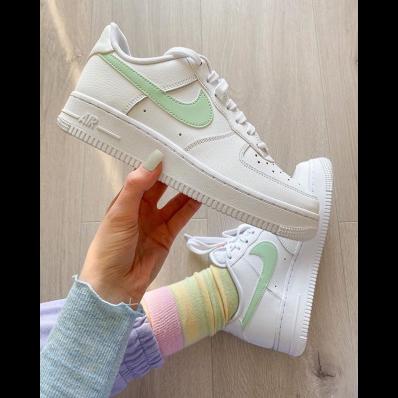 air force 1 vert pastel
