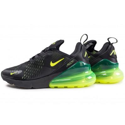 chaussure air max 270 noir et jaune