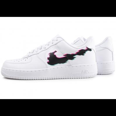 chaussure nike air force 1 avec motif