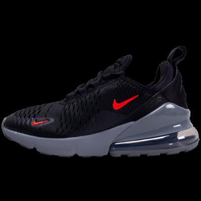chaussure nike air max 270 noir et rouge