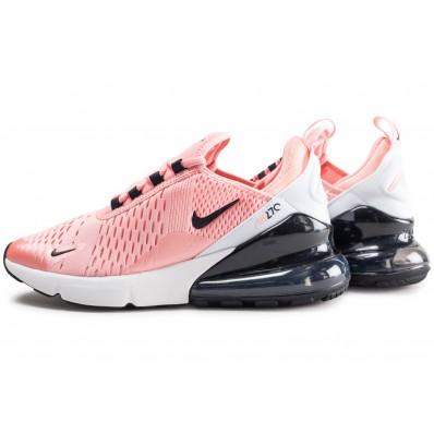 chaussure nike air max 270 rose et noir