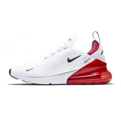 chaussures air max 270 blanc. et rouges