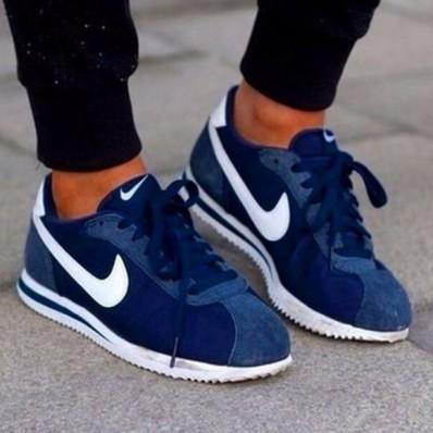 nike chaussure femme bleu