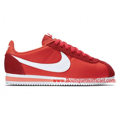 nike chaussures femme rouge