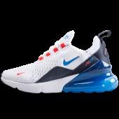 chaussure nike air max 270 blanc est bleu