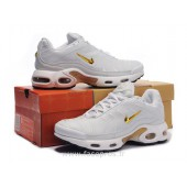 nike requin blanche et or