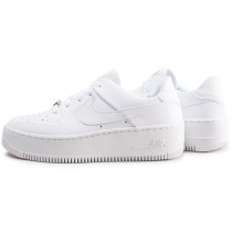 nike air force 1 sage femme blanche