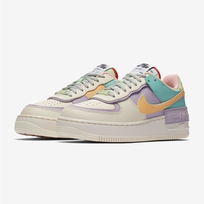 chaussure nike air force 1 femme pastel